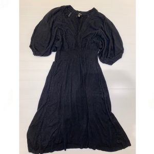 Express knit fit and flare dress size small